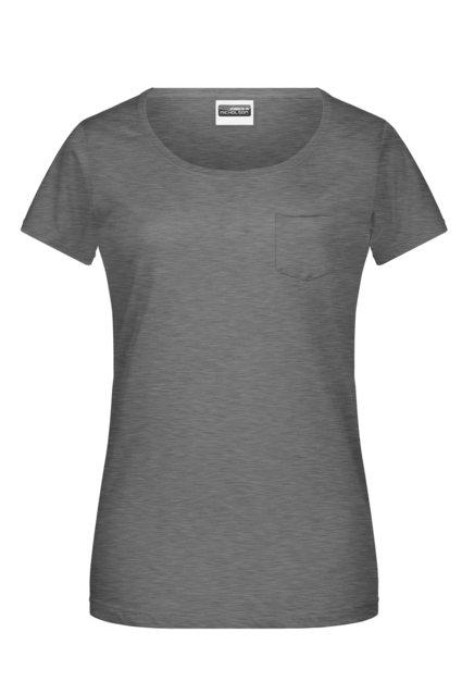 Tee-Shirt femme bio avec poche