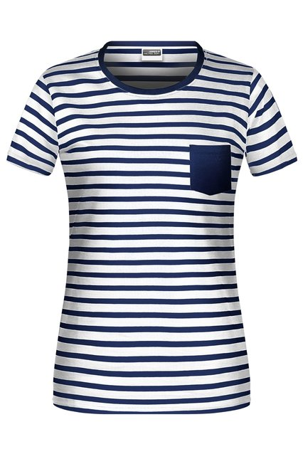 Ladies' T-Shirt Striped