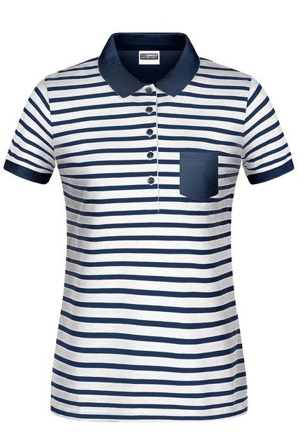 Ladies' Polo Striped