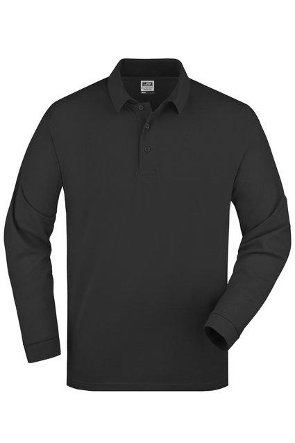 Polo Piqué Heavy Long-Sleeved