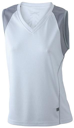 Tee-shirt femme respirant sans manches col V