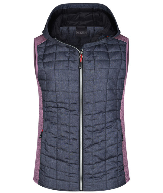 Ladies' Knitted Hybrid Vest