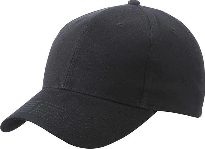 Brushed 6 Panel Cap