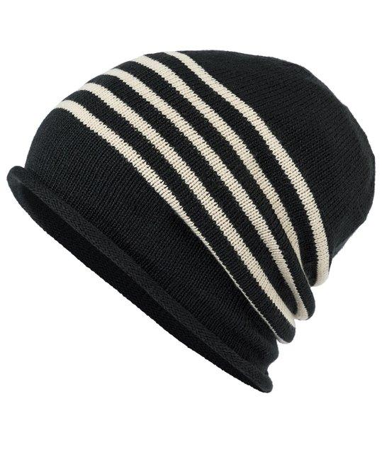 Bonnet fin tricoté