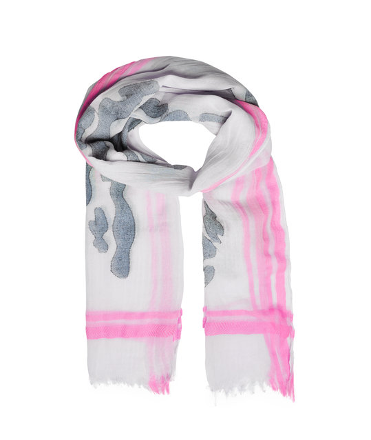 Bright-coloured Scarf