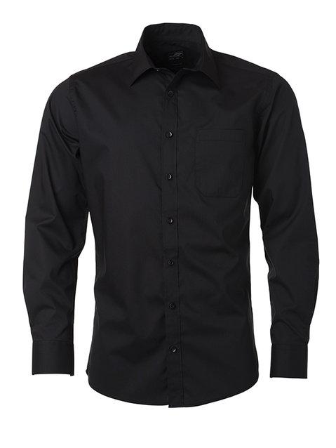 Men's Shirt Longsleeve Poplin S-XL