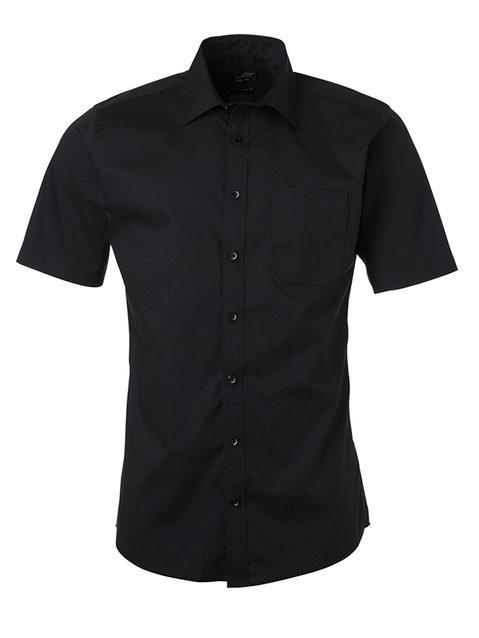 Men's Shirt Shortsleeve Poplin S-XL
