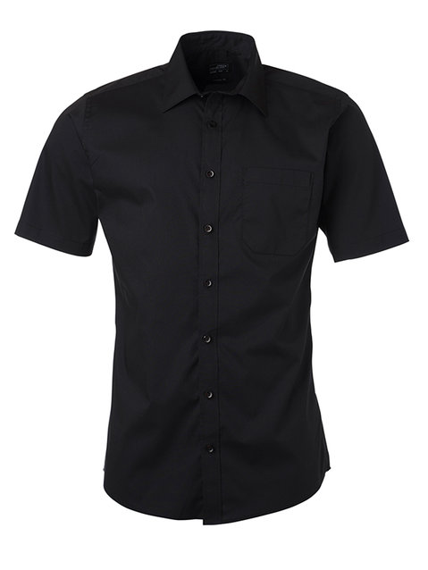 Men's Shirt Shortsleeve Poplin XXL-4XL