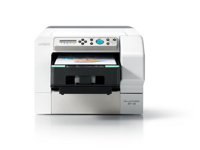 Roland direct to garment printer