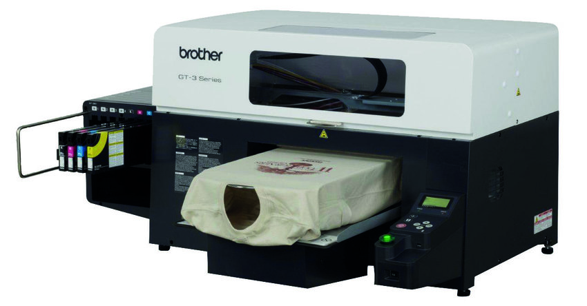 Brother GT341 direct to garment printer