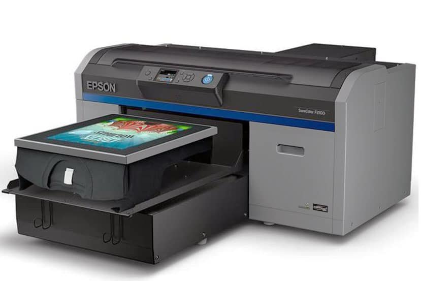 Espon F2100 direct to garment printer