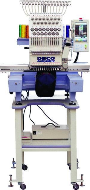 Industriële borduurmachine tegen 6500 euro (excl btw)