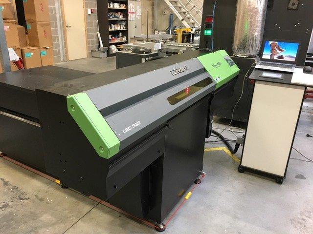 UV-flatbed printer met filter