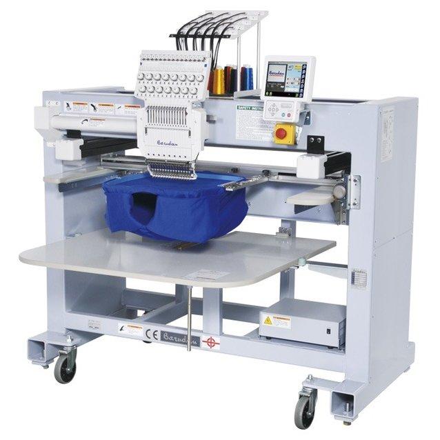 Barudan éénkopsborduurmachine op een chassis / 15 naalden