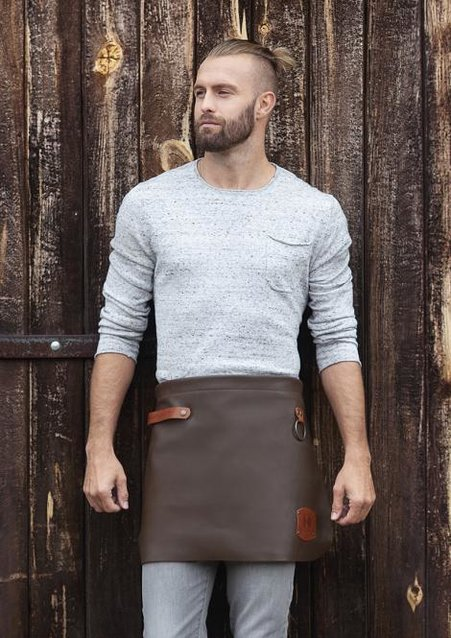 Leather Waist Apron 59 x 40 cm