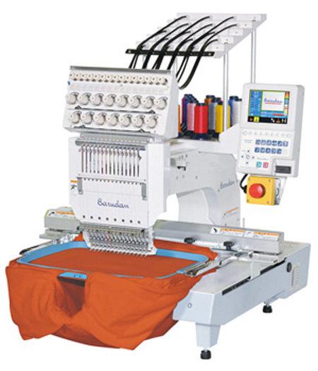 2° hands Barudan éénkopsborduurmachine met 15 naalden