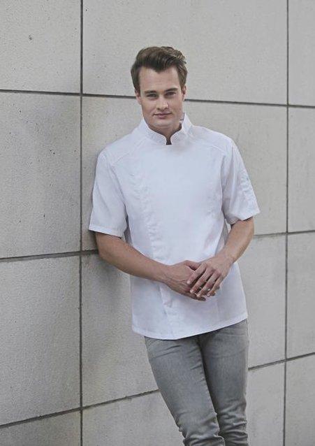 Short-Sleeve Chef Jacket MODERN-LOOK