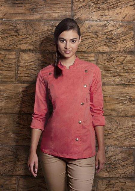 Ladies' Chef Jacket Jeans-Style