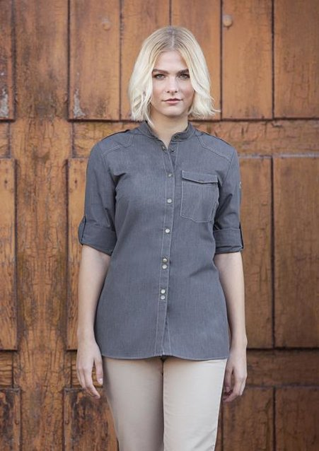 Ladies' Chef Shirt Jeans-Style