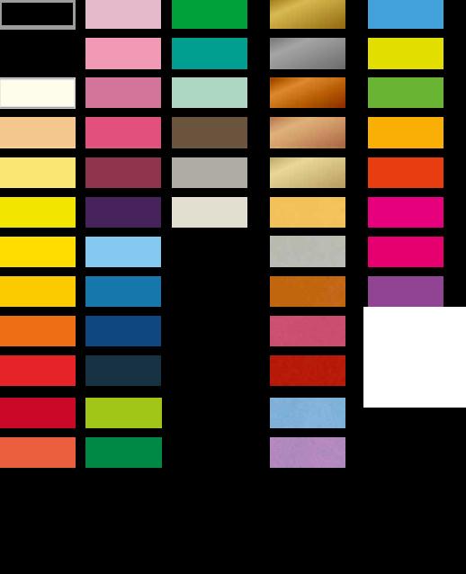 Kleurenkaart C-flex