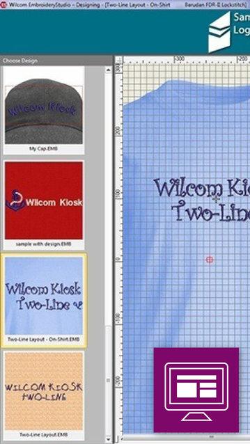 Wilcom Kiosk