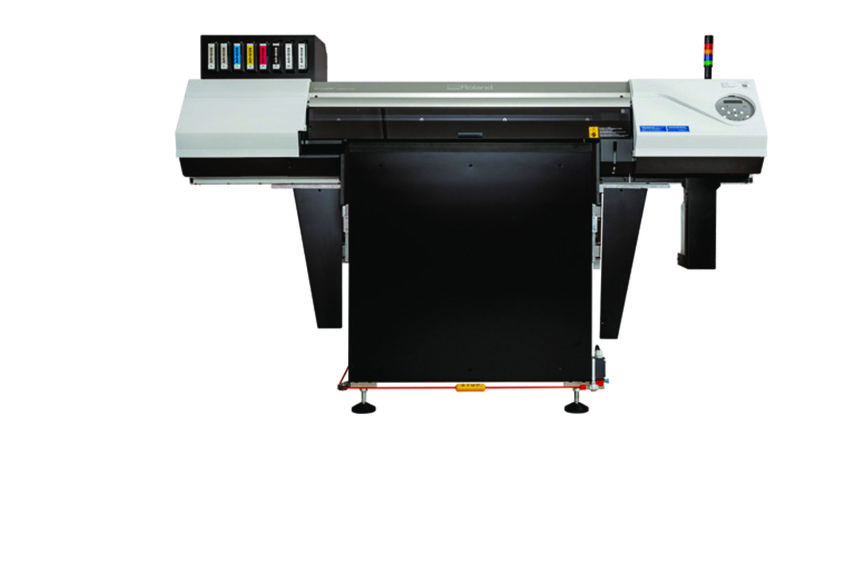 Flatbed UV-printer