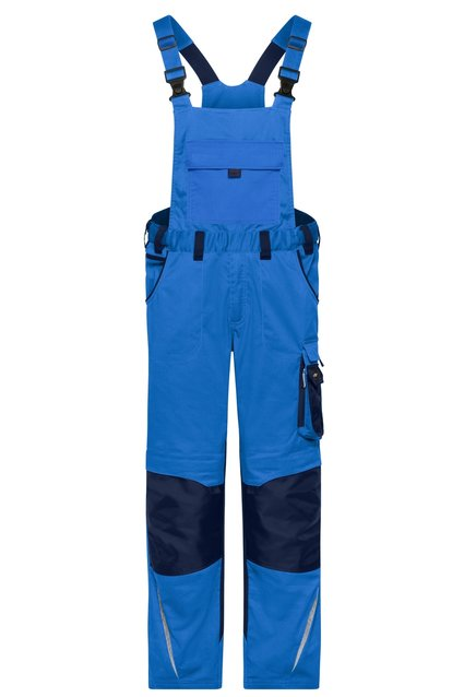 Workwear Pants recycled with Bib - STRONG - long