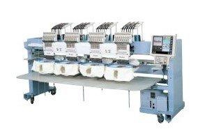 Barudan BEKY-CII 4-kopsborduurmachine uit showroom Epe